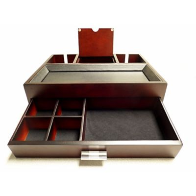 Dresser Valet with Leatherette Top