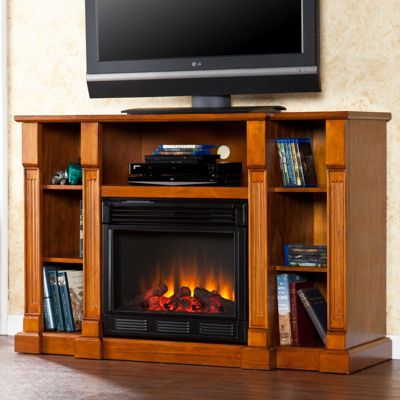 Kendall Fireplace Media Stand