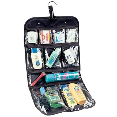 Traveling Hanging Cosmetics/Grooming Bag