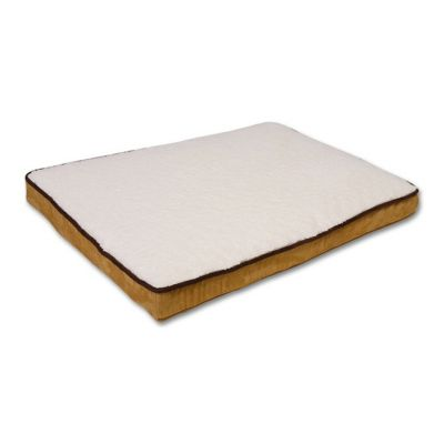 Double Orthopedic Suede Gussetted Pet Bed