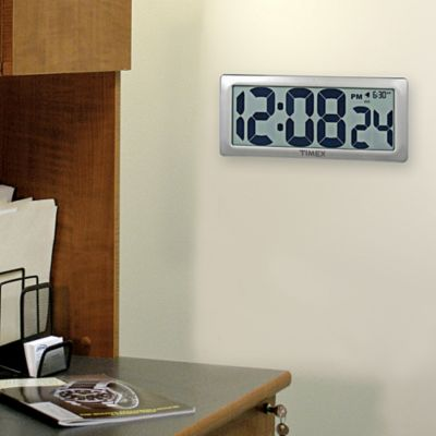 Jumbo LCD Digital Clock