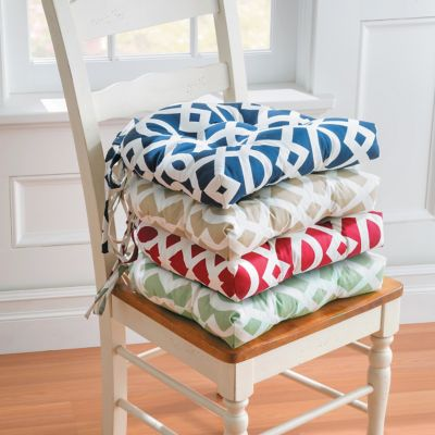 Trellis Tufted Chair Pad