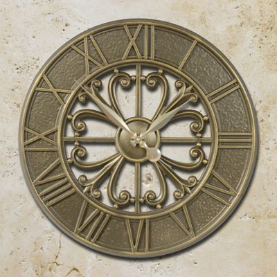 Villa Nova Outdoor Wall Clock