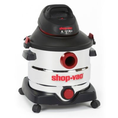 8-Gallon Stainless Steel Wet/Dry Vac