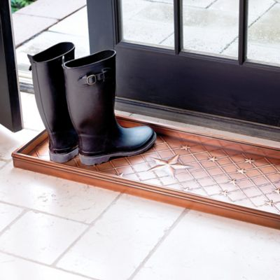 Bronze Star Boot Tray