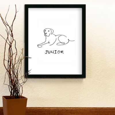 Personalized Pet Line Drawings