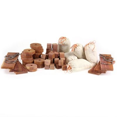 Cedar Closet Freshener Value Pack-71 Piece Set
