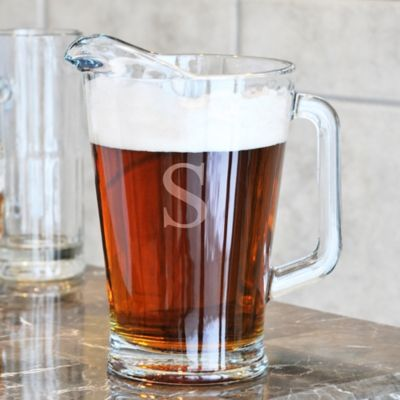 Personalized All-Purpose Glass Pitcher