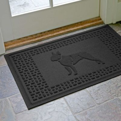 "Boston Terrier Fashion Floor Mat-24"" x 36"""
