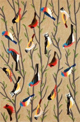 Birds Multi Color Rug