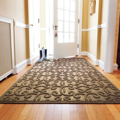 Water Guard Floor Mats & Stair Treads-Casablanca Scroll