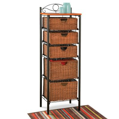 Cannon 5-Drawer Cabinet with Baskets