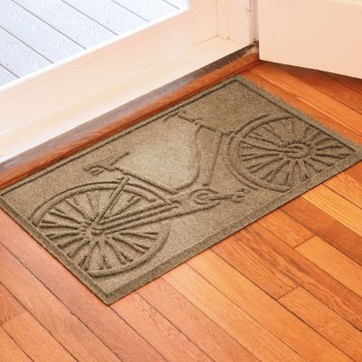 Water Guard Bicycle Floor Mat-2' x 3'
