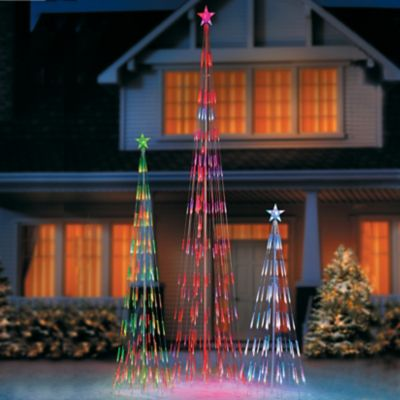 Bubble Light String Christmas Tree