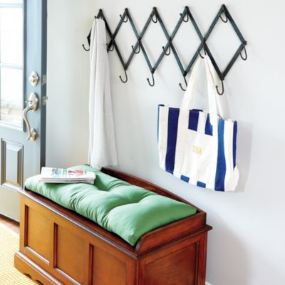 Flat Iron Scissors Coat Rack