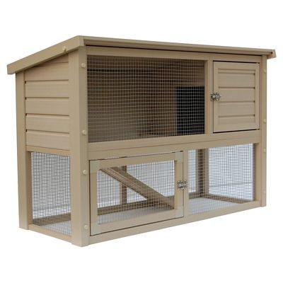 ecoFLEX Columbia Townhouse Rabbit/Small Animal Hutch