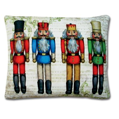 Nutcracker Indoor/Outdoor Decorative Throw Pillow