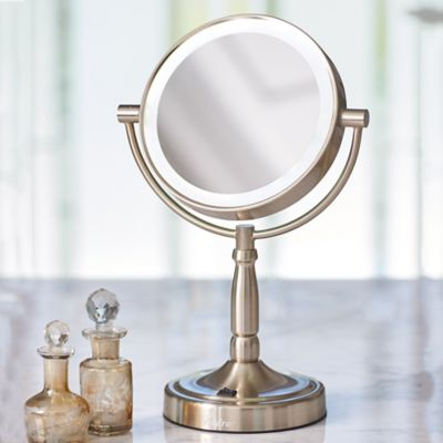 LED Cordless 1X/10X Vanity Mirror