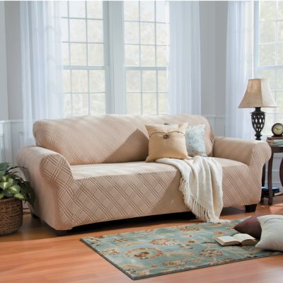 Double Diamond Stretch Slipcovers