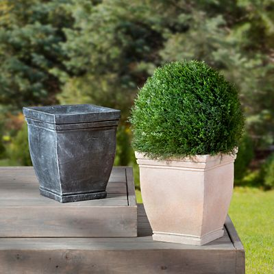 Tuscany Square Topiary Urn