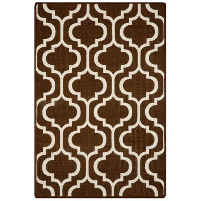 "Moroccan Cotton Dhurrie Anti-Slip Area Rug-42"" x 66"""
