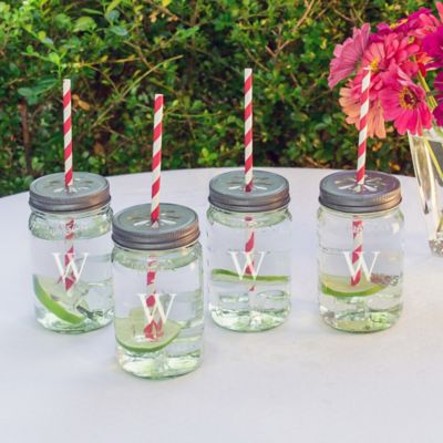 Personalized Mason Jar Drinkware