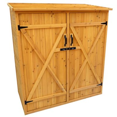 Wooden Storage Shed-Medium