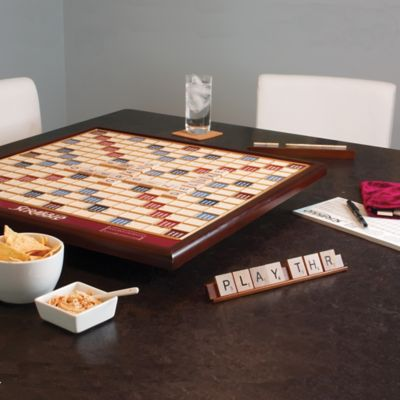 Giant Scrabble Deluxe Wooden Board Game