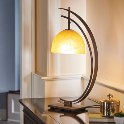 Half-Moon Table Lamp