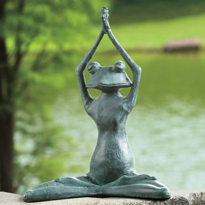 Stretching Yoga Frog