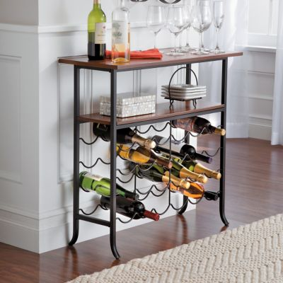 Wellington Wine Display Console