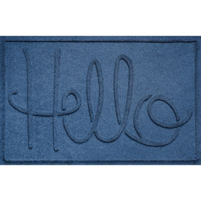 Water Guard Hello Floor Mat-2' x 3'