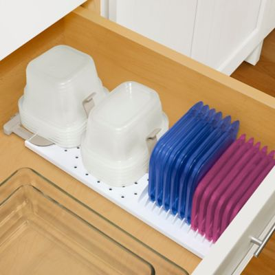 StoraStack Food Container Organizer for Drawers