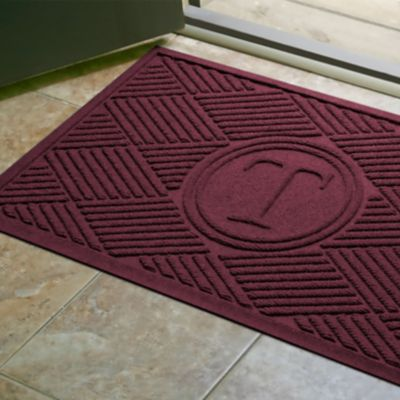 Water Guard Monogram Mat-Diamond Pattern-2' x 3'