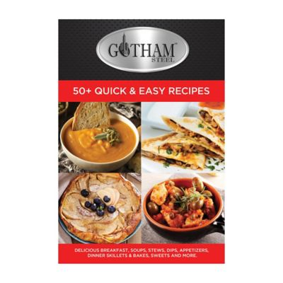 Gotham Steel Non-Stick Stock Pot with Lid