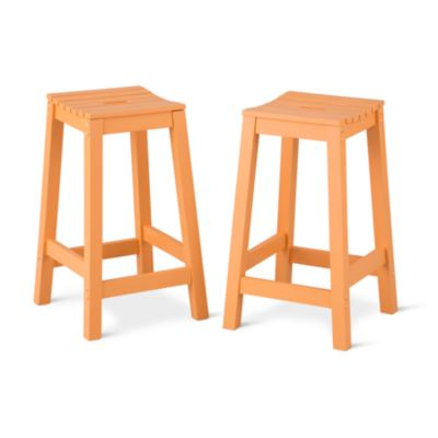 Cabana Wood Bar Stools-Set of 2