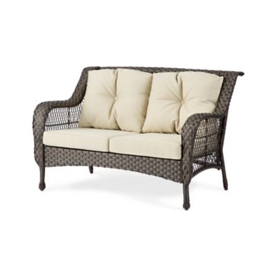 Coventry Resin Wicker Loveseat | Improvements