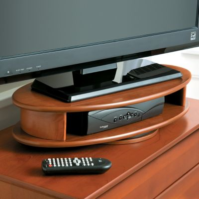 Oval TV Swivel Stand