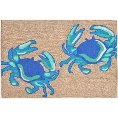 Blue Crabs Outdoor Rugs