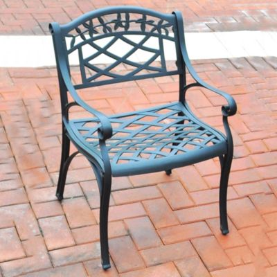 Sedona Cast Aluminum Arm Chairs-Set of 2