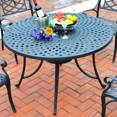 Sedona Cast Aluminum Dining Table-46""
