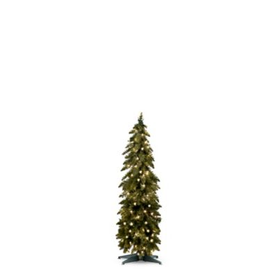 Alpine Pre-Lit Christmas Trees & Decor