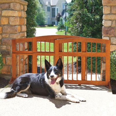 Eucalyptus Sliding Dog Gate