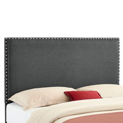 Contempo Nailhead Upholstered Headboard-Full/Queen