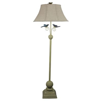 Fly Away Together Table and Floor Lamps