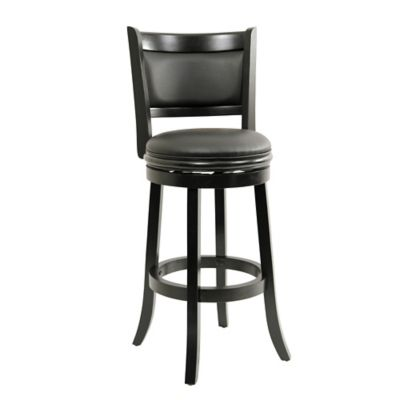 Augusta Faux Leather Swivel Bar Stools