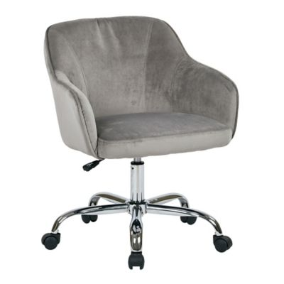 Bristol Velvet Desk Chair