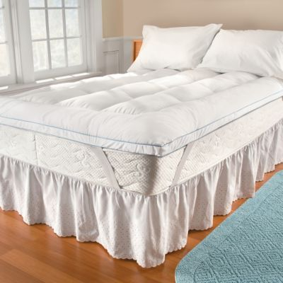 SensorLoft Ultrafresh Fiberbed Mattress Toppers