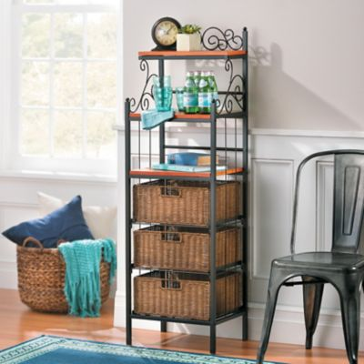 Cannon Storage Rack with Baskets