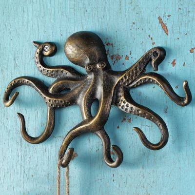 Swimming Octopus Key Hook